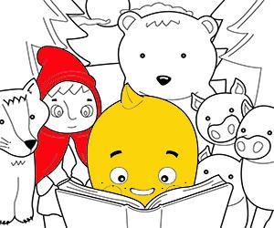 раскраски Рассказы для детей