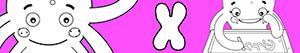 раскраски Имена для девочек с буквой X